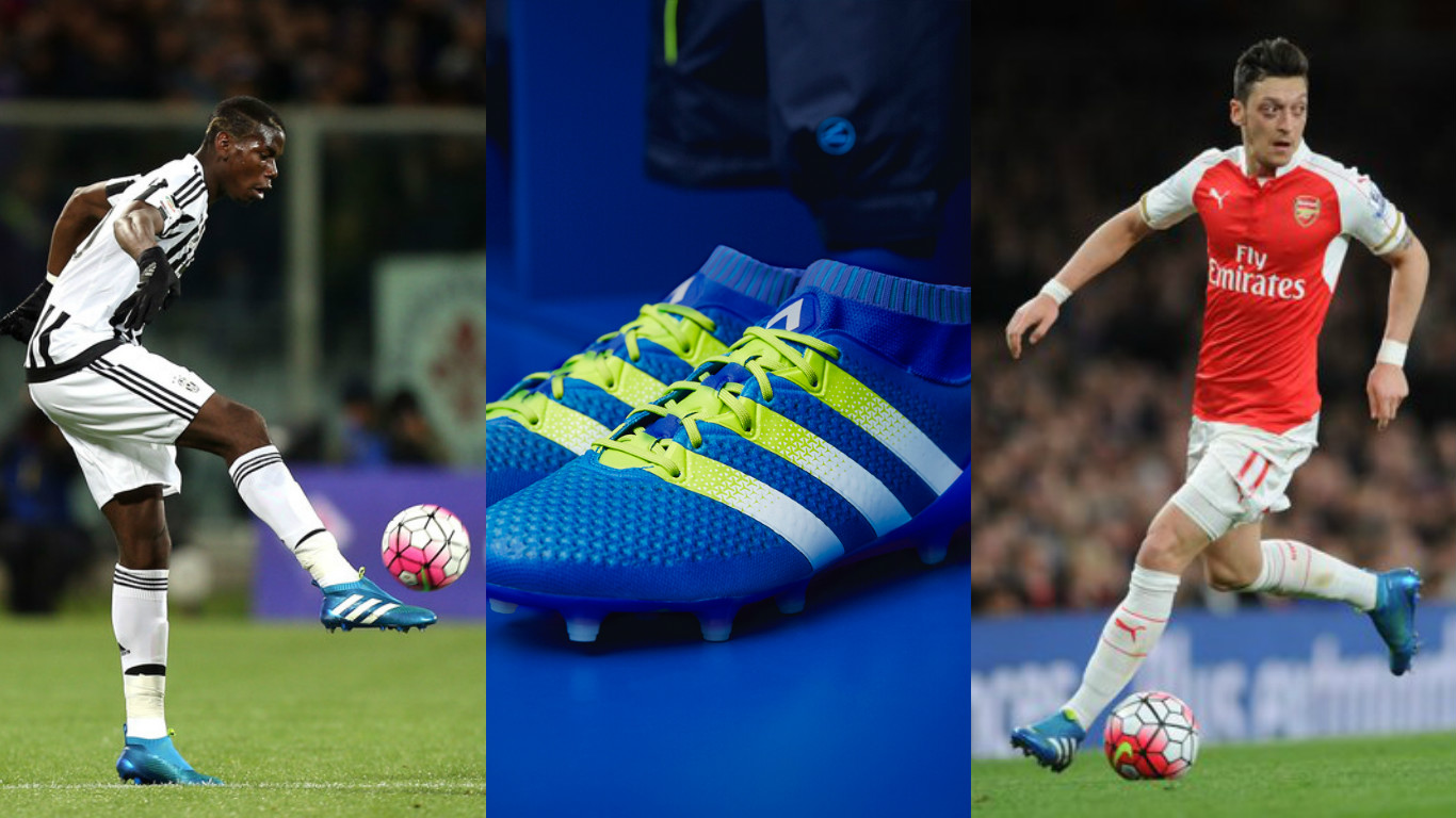 sports shoes 2ec27 cc851 Check out why Pogba & Ozil wear the Adidas ACE 16 Series ...